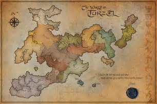 Blank Fantasy Map by Blank Fantasy Map Generator