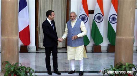 emmanuel macron modi emmanuel macron in india pm modi to receive french