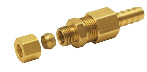 derale cooling products 13031 5 16 quot compression fitting
