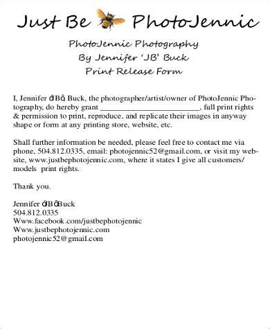 print release card template 8 print release form sles sle templates