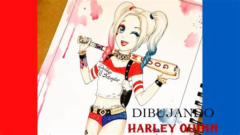 imagenes nuevas de harley quinn dibuja a harley quinn versi 243 n anime youtube