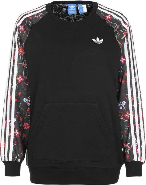 Sweater Black Addidas Basic adidas moscow pk crew w sweater black multicolor