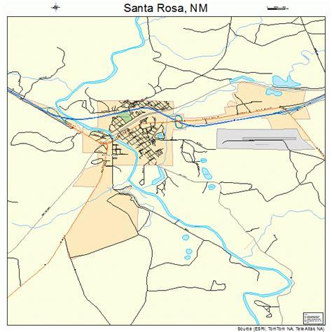 Santa Rosa santa rosa new mexico map 3570670