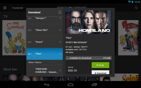 xfinity tv go apk free android app appraw - Xfinity Tv Go Apk