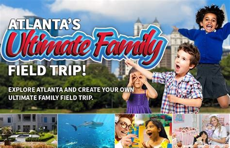 Atlanta Sweepstakes - atlanta summer ultimate field trip sweepstakes sweepstakesbible