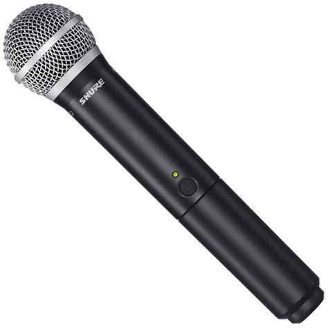 Mic Wireless Shure U 8888 shure blx2 pg58 handheld transmitter wireless mics