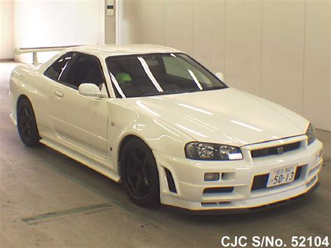 2001 nissan skyline white for sale stock no 52104