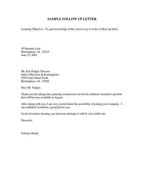 thank you letter after mistakes sle follow up email after how to