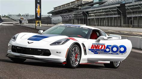 corvette grand sport named  indy  pace car