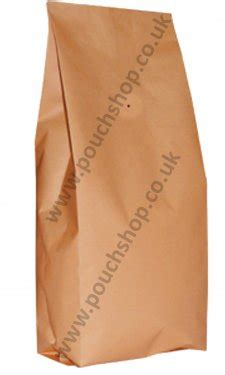 Flat Bottom Valve Zipper 2000 Gusset Pouch 17 5x30 Buy Kraft Side Gusset Pouch With Valve Coffee Bags