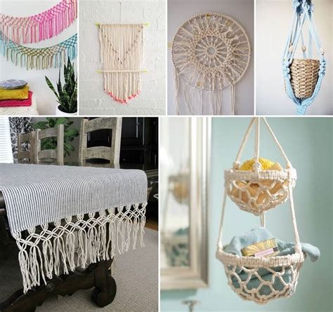 Macrame Craft Ideas - 10 marvelous macrame projects to craft http www