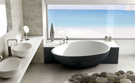 zeitgenössische badezimmer designs design badewannen sofa