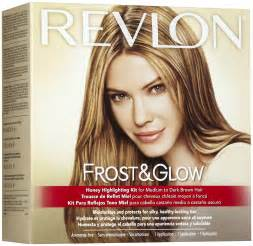 silver hair frosting kit revlon frost glow highlighting kit medium dark brown hair