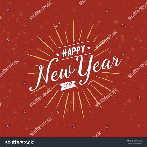 new year logo happy new year 2017 text design stock vector 529253929