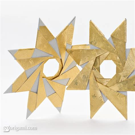 Origami 8 Point - easy origami 8 pointed comot