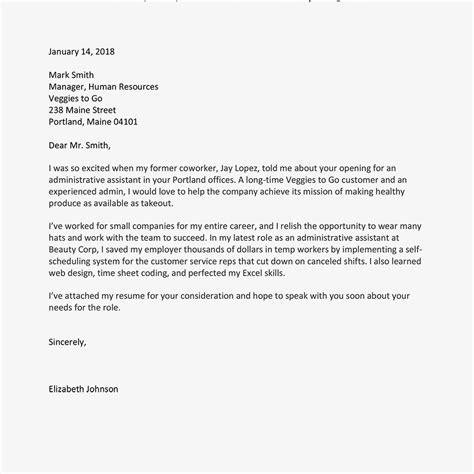 full block format application letter com examples job best of 5