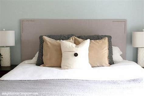 como hacer  cabecero de cama unacasabonita