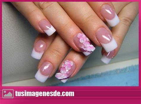 imagenes de uñas acrilico blancas u 241 as acrilicas brillantes