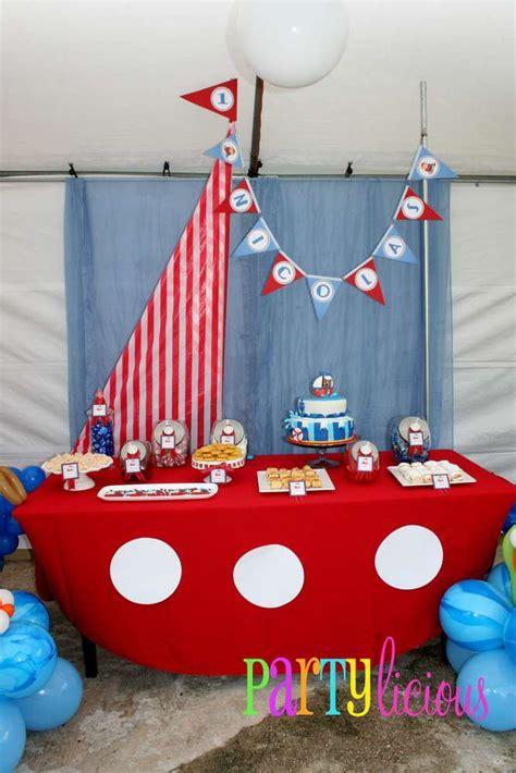 sailor nautical theme sailor nautical birthday ideas photo 6 of 22