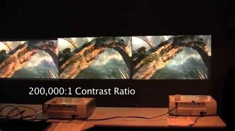 cineca test epson powerlite home cinema 8350 comparison review
