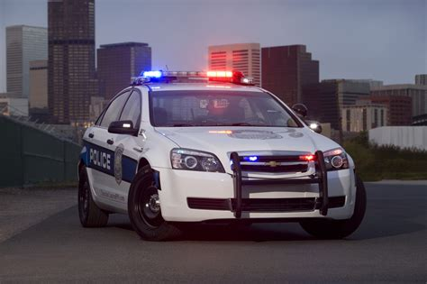 New 2012 Chevy Caprice police cars are on patrolled in U.S.