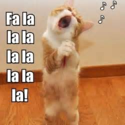 Singing Cat Meme - tag for adorable baby kittens with christmas quotes