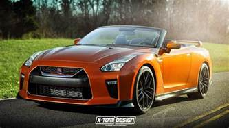 Nissan Convertibles 2017 Nissan Gt R Convertible Imagined Gtspirit