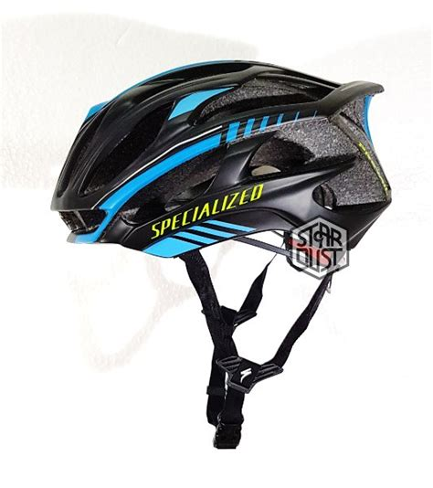 Topi Sepeda Blue White jual helm specialized prevail black blue doff acm