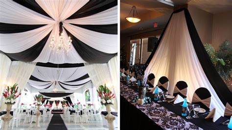 Decoration De Salle Noir Et Blanc idee decoration mariage noir et blanc id 233 es et d