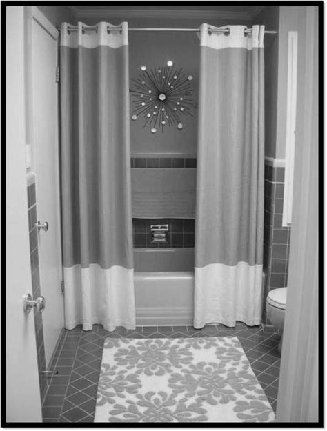 two panel shower curtain 17 best ideas about two shower curtains on pinterest