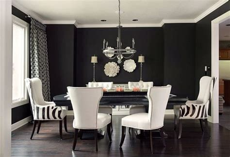 gray and black living room black and white dining room ideas 2017 grasscloth wallpaper