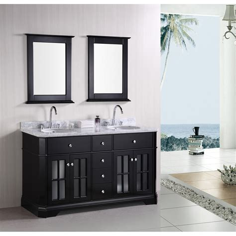 design element bathroom vanities design element imperial 60 quot sink bathroom vanity