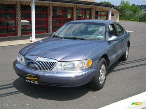99 lincoln continental 1999 lincoln continental pictures information and specs