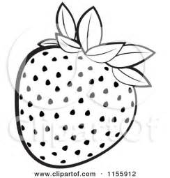 Strawberry Outline Drawing by Strawberry Outline Clipart Clipart Kid