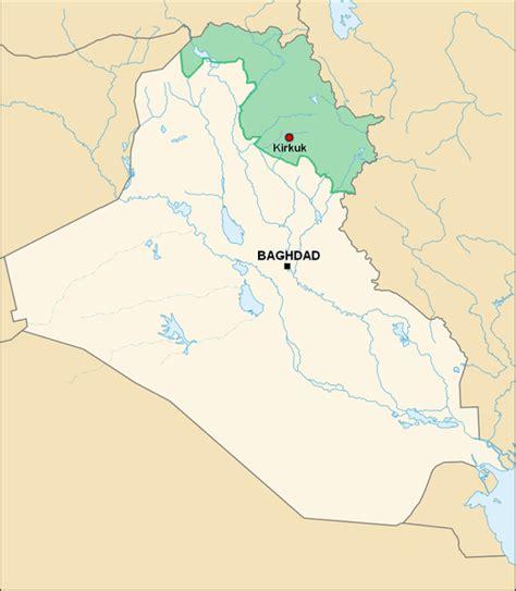map of iraqi kurdistan independent kurdish exports could divide iraq
