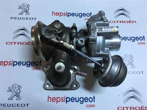 peugeot  turbo  benzinli hp hp honeywell