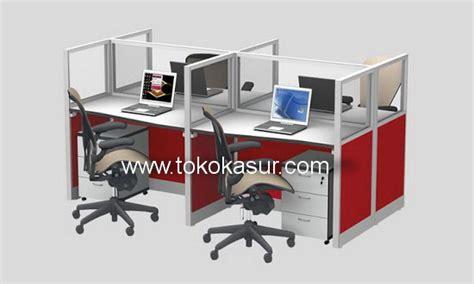Promo Sekat 5 1 partisi penyekat kantor murah meja partisi kantor uno