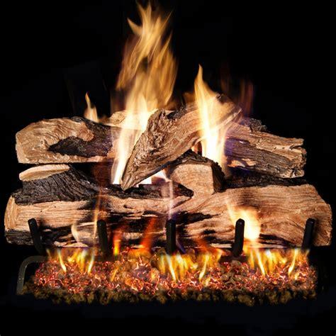 18 Inch Gas Fireplace Logs by Peterson Real Fyre 18 Inch Split Oak Designer Plus Gas Log