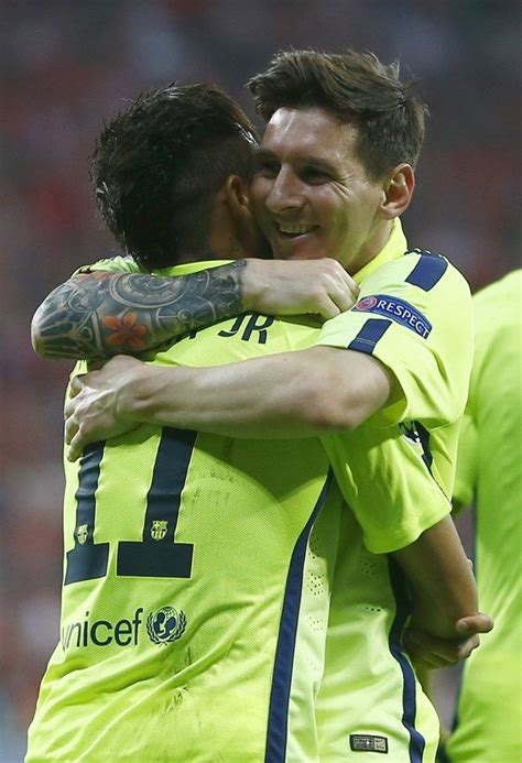 neymar new tattoo messi and neymar jr sportfanzine messi neymar