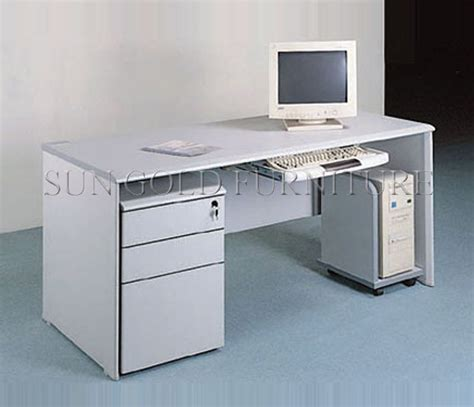 White Used Computer Desk With Drawer Study Table Furniture Used White Desk