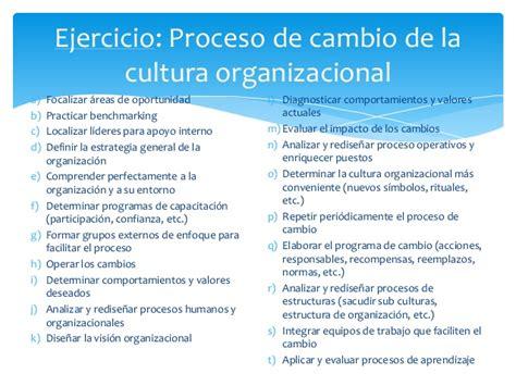 procesos de cambio organizacional gestiopolis cultura organizacional calidad en el servicio y atencion