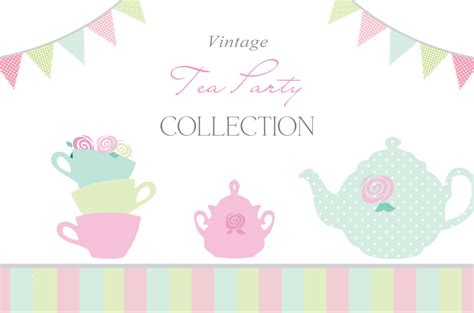 6 best images of blank printable tea party invitations