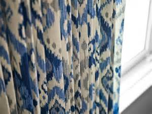 White Ikat Curtains Photos Hgtv