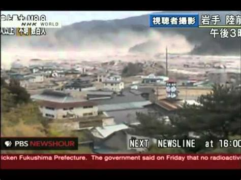 best tsunami footage best footage tsunami japan earthquake