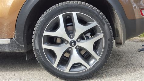 Kia Sportage 18 Inch Wheels Preview Kia Sportage Brings A Fresh To Value Suvs