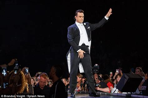 swing robbie williams robbie williams says goodbye to australia following arena