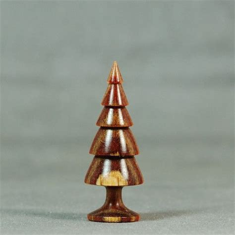 dollhouse miniature wood turning hazelnut dymondwood christmas