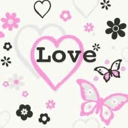 Rainbow Bedroom Accessories Debona Love Hearts Flowers Butterfly Girls