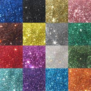 Glitter colouring pages