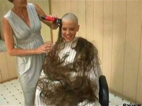female in barber chair getting buzzcut 17 best images about barbershop haircuts on pinterest
